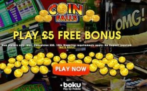 coinfalls pay by phone casino site