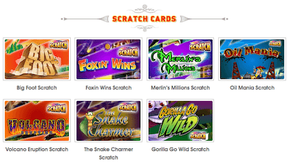 Coinfalls Scratch Cards Online