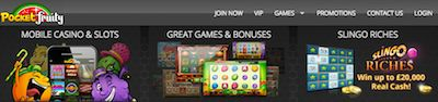 Pocket Fruity no Deposit Mobile Casino Free Bonus