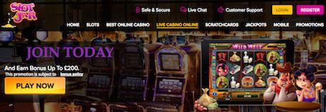 Join SlotJar Online Casino