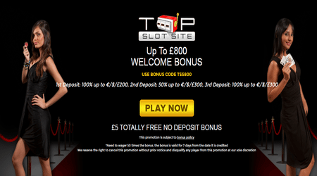 Welcome Bonus UK Casino