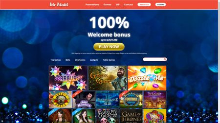 Play At Mr.Mobi Casino