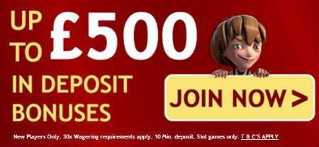 Amazing Casino Deposit Bonus
