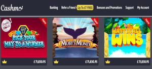 real money online slots cashmo
